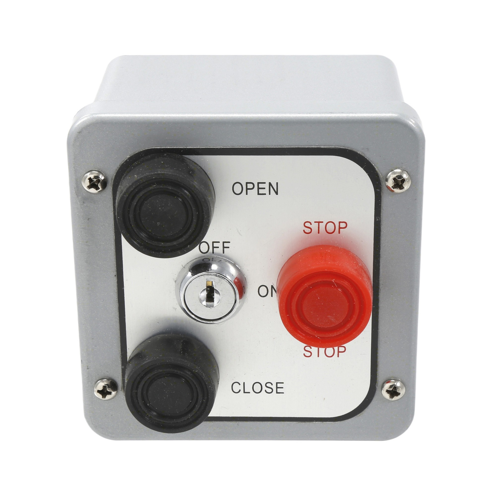 MMTC 3BXL NEMA 4 Exterior Three Button Control with Lockout Surface Mount Control Station