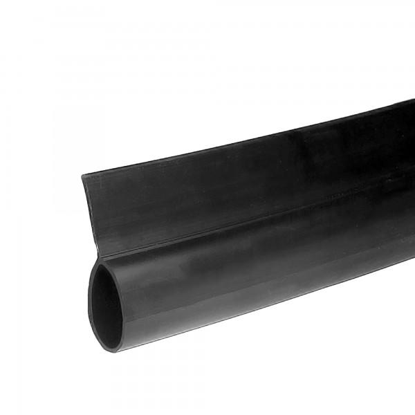 Miller Edge Bottom Bulb Seal - Black - BS-0101