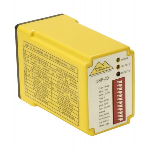 Diablo Dual Channel 11-Pin Vehicle Detector (10-30 V AC/DC) - DSP-20-LV