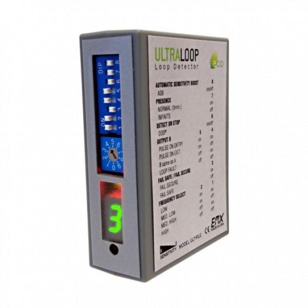 EMX UltraLoop Plug-in Style Vehicle Loop Detector - ULT-PLG