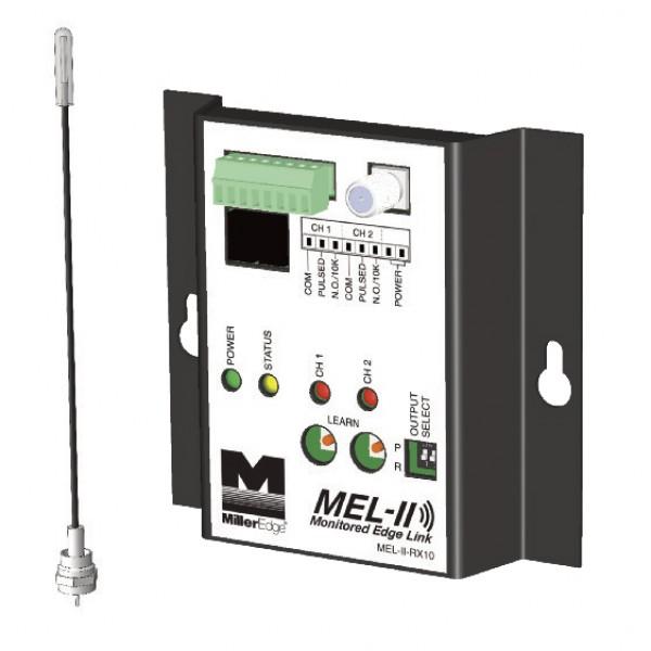 Miller Edge MEL-II-RX10 Monitored Edge Link Wireless Door Receiver