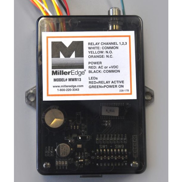 Miller Edge MWR13 3-Channel Receiver